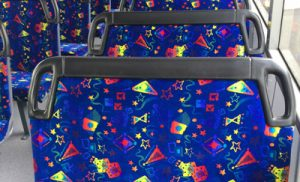 Bus and Coach Fabrics – 100% Polyester Moquette