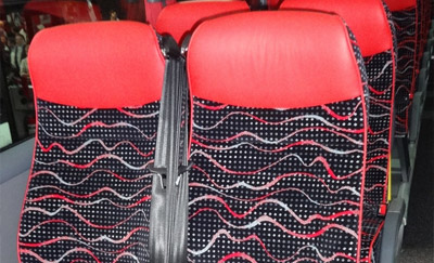 Bus and Coach Fabrics – Polyester/Wool Moquette